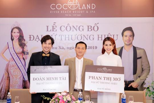 CocoLand River Beach Resort & Spa công bố: Hoa hậu Phan Thị Mơ và Đoàn Minh Tài làm gương mặt đại sứ! - Ảnh 1.