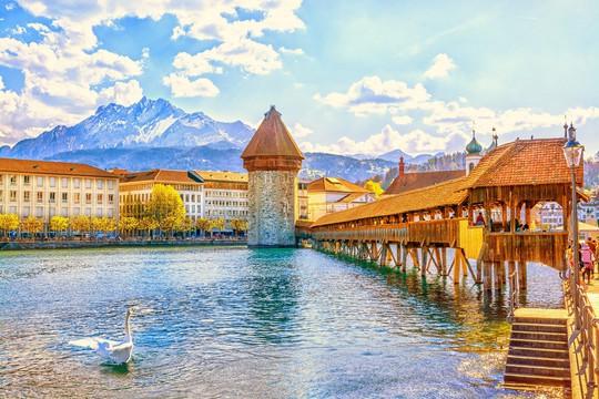 Nồng nàn sắc thu Thụy Sĩ - Ảnh 1.
