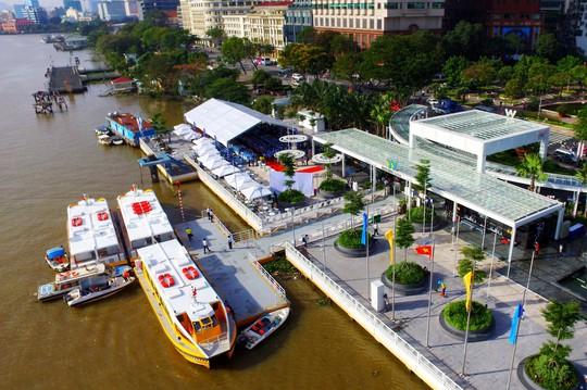 Buýt sông - hơi thở mới của đường thuỷ TP HCM - Ảnh 1.