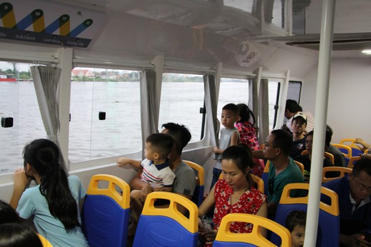 Buýt sông - hơi thở mới của đường thuỷ TP HCM - Ảnh 3.