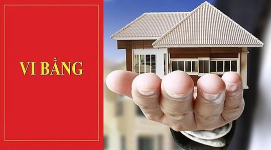 Cần lưu ý khi mua bán nhà đất qua vi bằng - Ảnh 1.