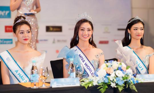 Tân hoa hậu Lương Thùy Linh đáp trả tin đồn mua giải - Ảnh 2.
