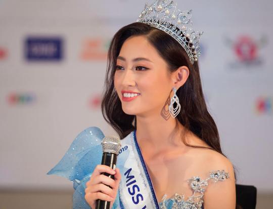 Tân hoa hậu Lương Thùy Linh đáp trả tin đồn mua giải - Ảnh 1.