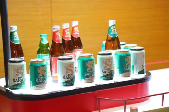 Tái ra mắt thương hiệu Bia Saigon - Ảnh 1.
