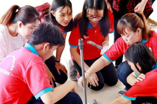 Kỳ nghỉ hồng của tuổi trẻ Sawaco: Lấy chuyên môn phục vụ cộng đồng - Ảnh 4.