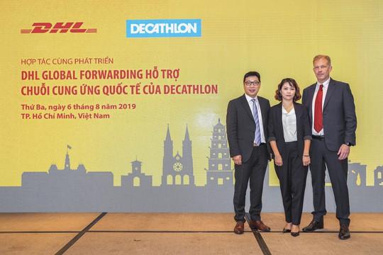 DHL hợp tác Decathlon cung cấp chuỗi cung ứng quốc tế - Ảnh 1.