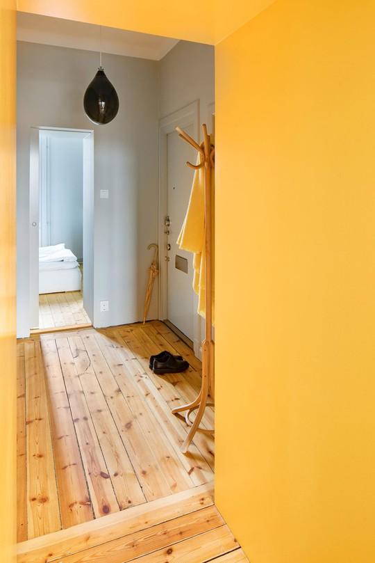 Bên trong căn hộ màu vàng xinh xắn - Ảnh 7.