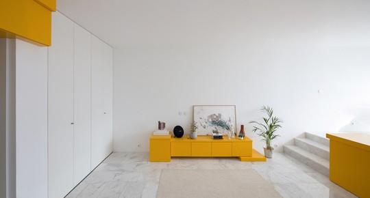 Bên trong căn hộ màu vàng xinh xắn - Ảnh 10.