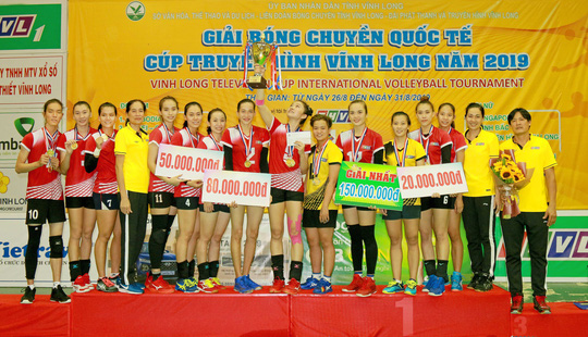 Nữ Truyền hình Vĩnh Long và nam TP HCM vô địch bóng chuyền quốc tế - Ảnh 6.