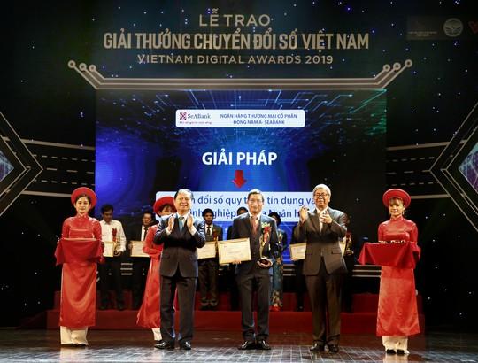 SeABank nhận giải thưởng Vietnam Digital Awards 2019 - Ảnh 1.