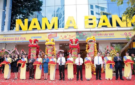 """Nam A Bank tiếp tục """"phủ sóng"""" tại Bà Rịa - Vũng Tàu, Kiên Giang - Ảnh 1."""