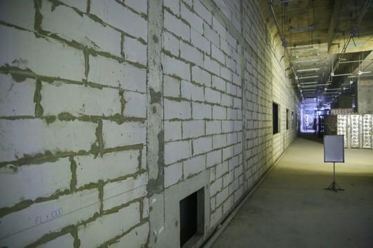 Diện mạo đường hầm Metro số 1 tại trung tâm TP HCM - Ảnh 9.