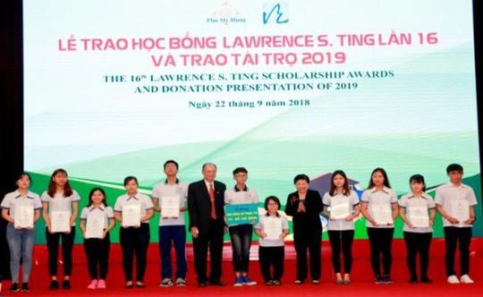 Quỹ Lawrence S. Ting – 14 năm tận tâm vì giáo dục Việt Nam - Ảnh 1.