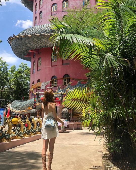 Bí ẩn đằng sau ngôi chùa hồng có rồng khổng lồ quấn quanh - Ảnh 12.