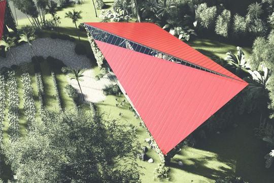Ngôi nhà như cánh diều giữa vườn cây Đà Nẵng - Ảnh 3.