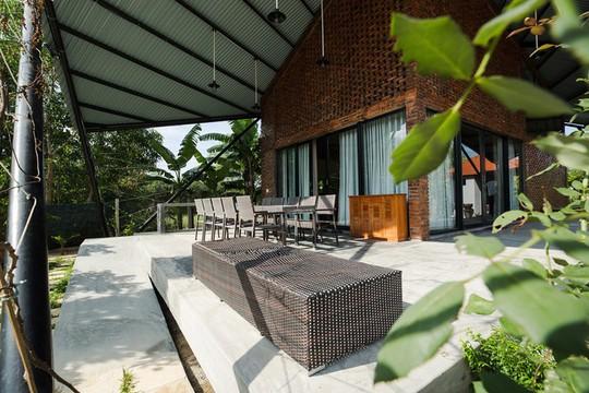 Ngôi nhà như cánh diều giữa vườn cây Đà Nẵng - Ảnh 4.