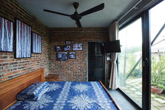Ngôi nhà như cánh diều giữa vườn cây Đà Nẵng - Ảnh 6.