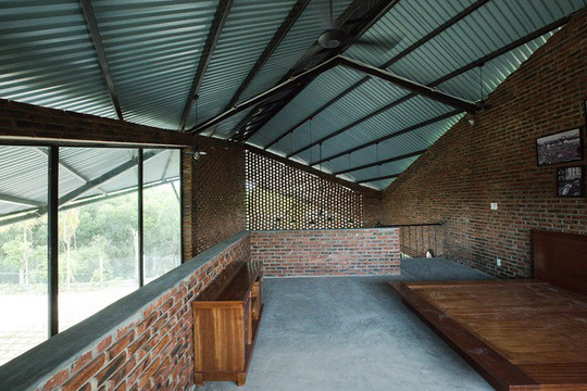 Ngôi nhà như cánh diều giữa vườn cây Đà Nẵng - Ảnh 7.