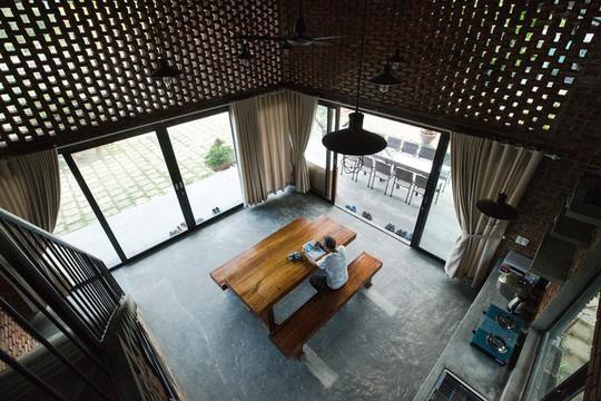 Ngôi nhà như cánh diều giữa vườn cây Đà Nẵng - Ảnh 8.