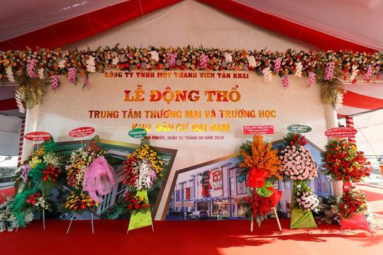 Xây Trung tâm thương mại Đại Nam và Trường học tại Khu dân cư Đại Nam - Bình Phước - Ảnh 3.