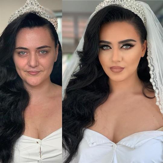 Sức mạnh kỳ diệu của trang điểm khi làm cô dâu - Ảnh 13.