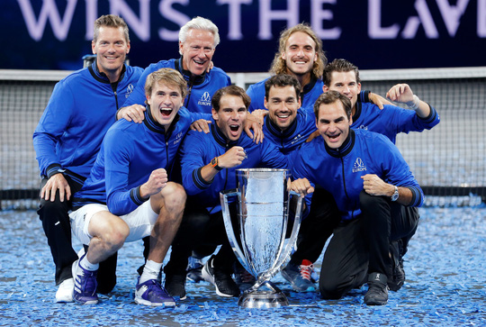 Tuyển châu Âu của Federer và Nadal vô địch Laver Cup 2019 - Ảnh 5.