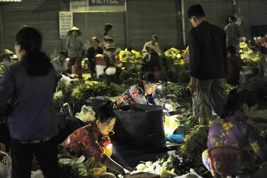 Chợ chồm hổm chỉ bán thứ của nhà trồng được - Ảnh 2.