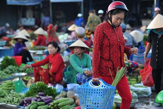 Chợ chồm hổm chỉ bán thứ của nhà trồng được - Ảnh 12.