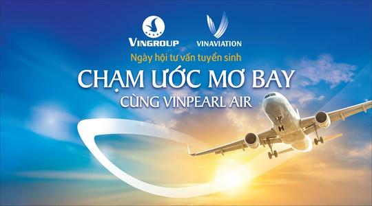 Vinpearl Air tổ chức Ngày hội tuyển sinh Khóa đào tạo phi công tại TP HCM - Ảnh 1.