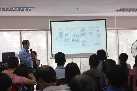 Công ty Hoàng Quân họp với cư dân về dự án HOF - HQC Hồ Học Lãm - Ảnh 1.