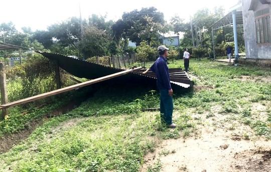 Lâm Đồng: Cây gãy đổ, ngập lụt, sạt lở đất nhà tốc mái la liệt do mưa bão - Ảnh 5.