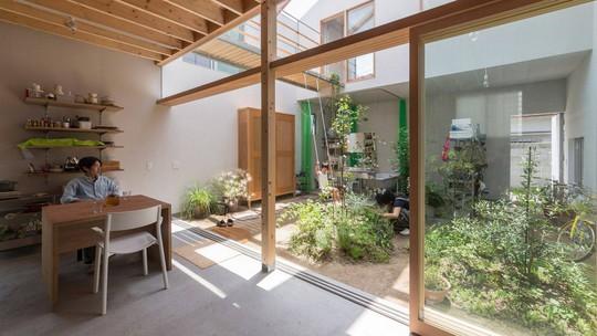 Độc đáo ngôi nhà thiết kế lạ, xóa ranh giới giữa nội thất và ngoại thất - Ảnh 9.