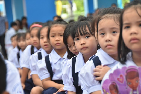 TP HCM: Sẽ có một bộ phận nhỏ học sinh lớp 1 không đọc thông, viết thạo vào cuối năm học - Ảnh 1.