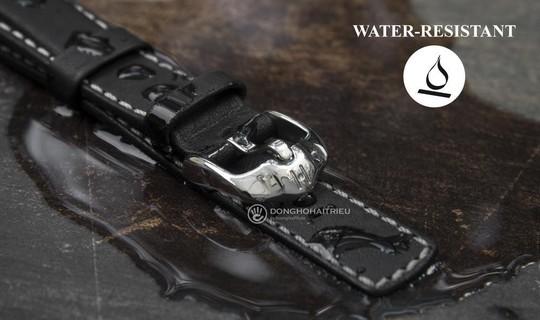 Mua dây da đồng hồ cứ chọn Hirsch, đã chịu nước lại còn bền - Ảnh 1.
