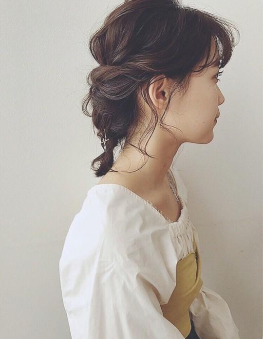 Những kiểu tóc tết đẹp dành cho nàng tóc ngắn - Ảnh 1.