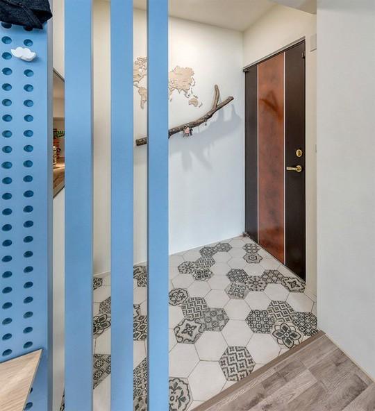 Ngắm mãi không chán căn hộ phong cách Retro có nội thất làm bằng chất liệu gỗ - Ảnh 1.