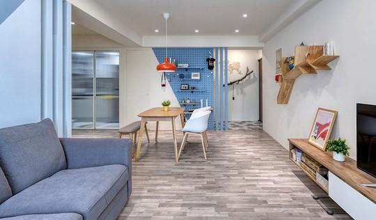Ngắm mãi không chán căn hộ phong cách Retro có nội thất làm bằng chất liệu gỗ - Ảnh 3.