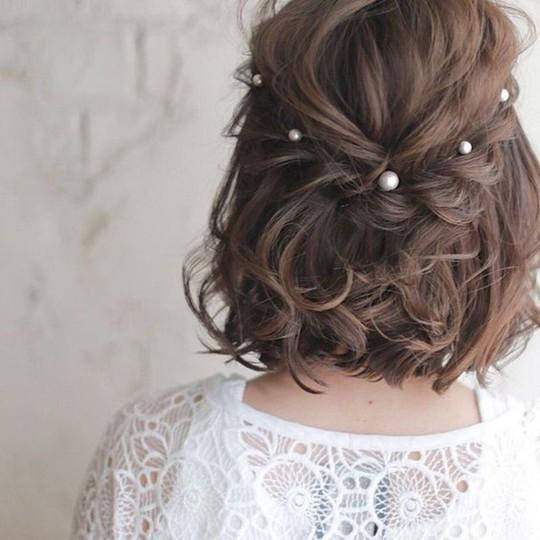 Những kiểu tóc tết đẹp dành cho nàng tóc ngắn - Ảnh 12.