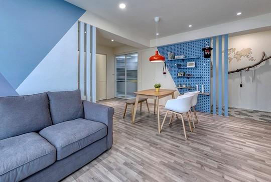 Ngắm mãi không chán căn hộ phong cách Retro có nội thất làm bằng chất liệu gỗ - Ảnh 4.