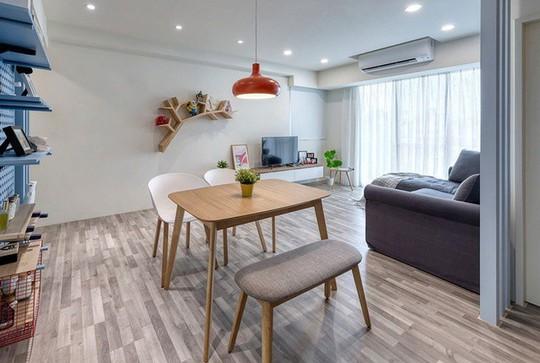 Ngắm mãi không chán căn hộ phong cách Retro có nội thất làm bằng chất liệu gỗ - Ảnh 5.