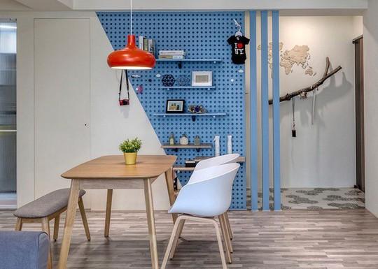Ngắm mãi không chán căn hộ phong cách Retro có nội thất làm bằng chất liệu gỗ - Ảnh 6.