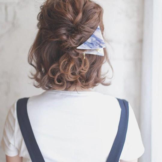 Những kiểu tóc tết đẹp dành cho nàng tóc ngắn - Ảnh 7.
