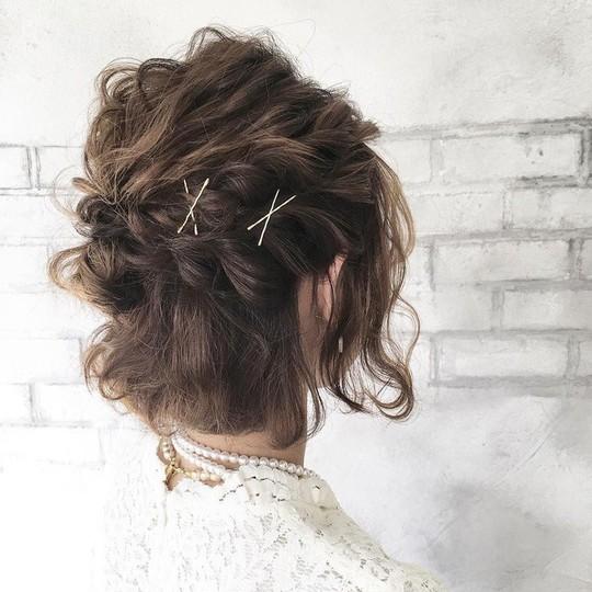 Những kiểu tóc tết đẹp dành cho nàng tóc ngắn - Ảnh 8.