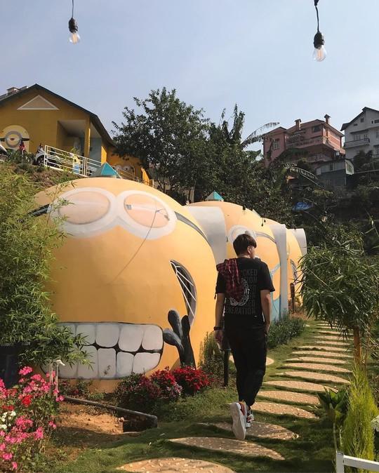 Nhà của Doraemon và 4 homestay thiết kế lạ ở Đà Lạt - Ảnh 7.