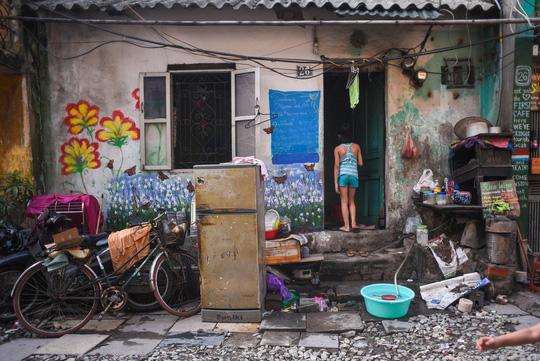 Một ngày ở xóm du lịch đặc biệt nhất Hà Nội - Ảnh 29.