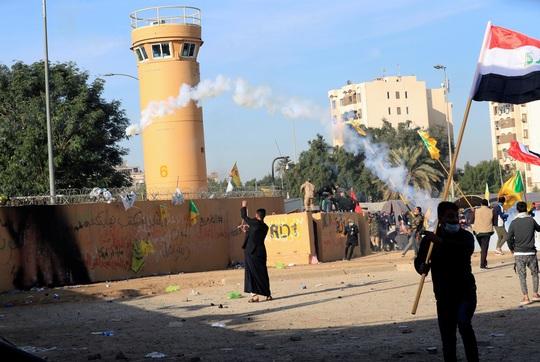 Mỹ phô trương lực lượng khi chi viện cho đại sứ quán ở Iraq - Ảnh 2.