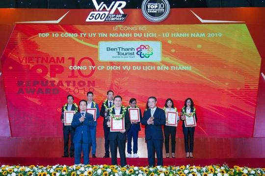 BenThanh Tourist đạt top 3 Công ty Du lịch uy tín năm 2019 - Ảnh 1.