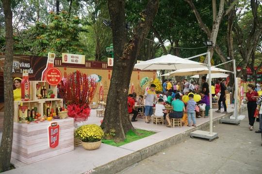Nam Ngư mang sắc xuân 3 miền vào Lễ hội Tết Việt - Ảnh 1.