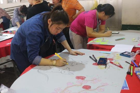 Công nhân Công ty TNHH Pou Yuen vui xuân - Ảnh 3.