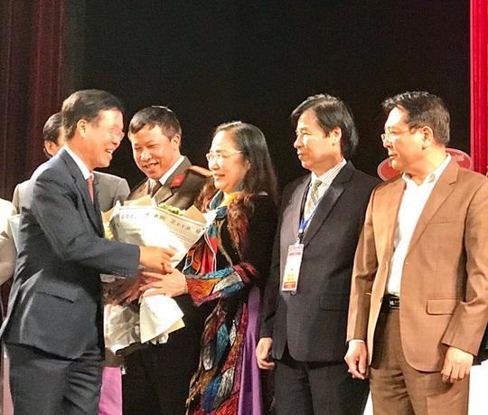 NSND Thuý Mùi đắc cử Chủ tịch Hội Nghệ sĩ sân khấu Việt Nam - Ảnh 1.